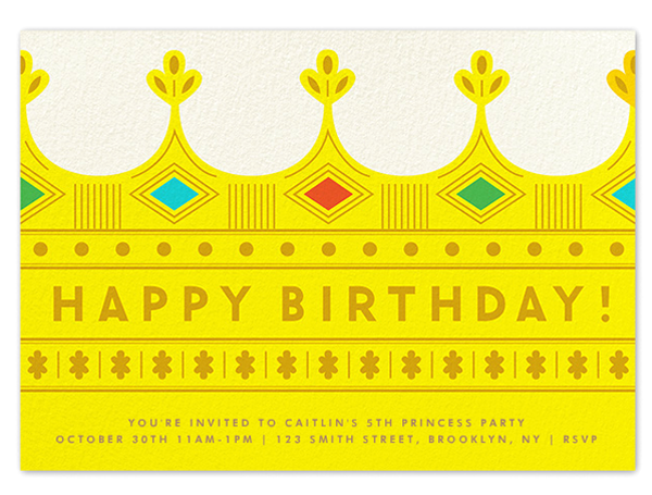 PAPERLESS POST Kids Birthday Invitations