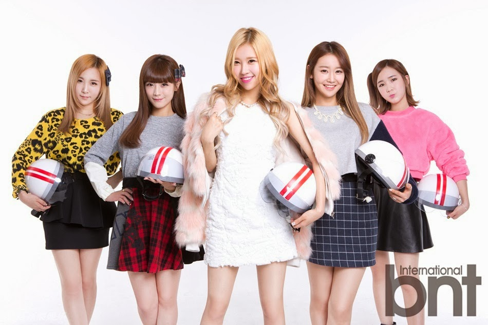 Crayon Pop bnt international