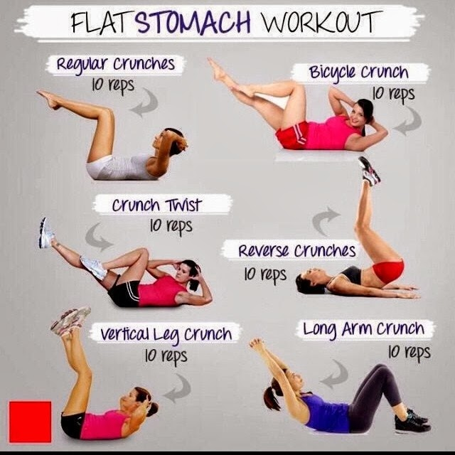 FLAT STOMACH WORK OUT