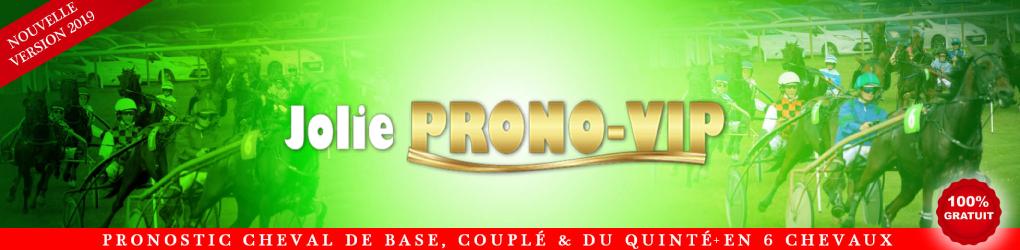Jolieprono-Vip : le pronostic Quinté+