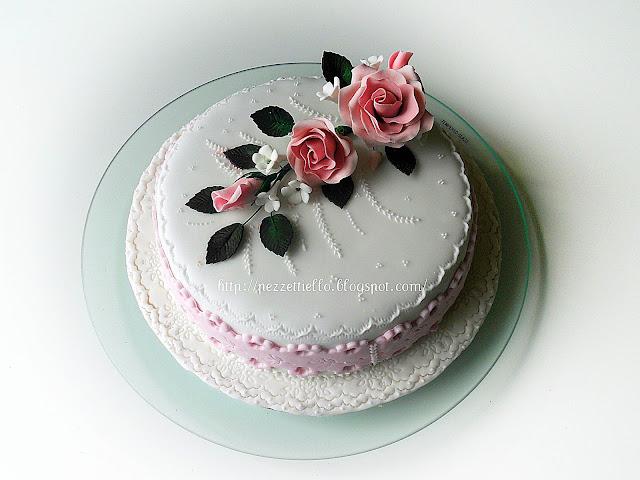 (Pdz-sap-gumpaste) Anniversario della mia cara amica Caterina e Giovanni