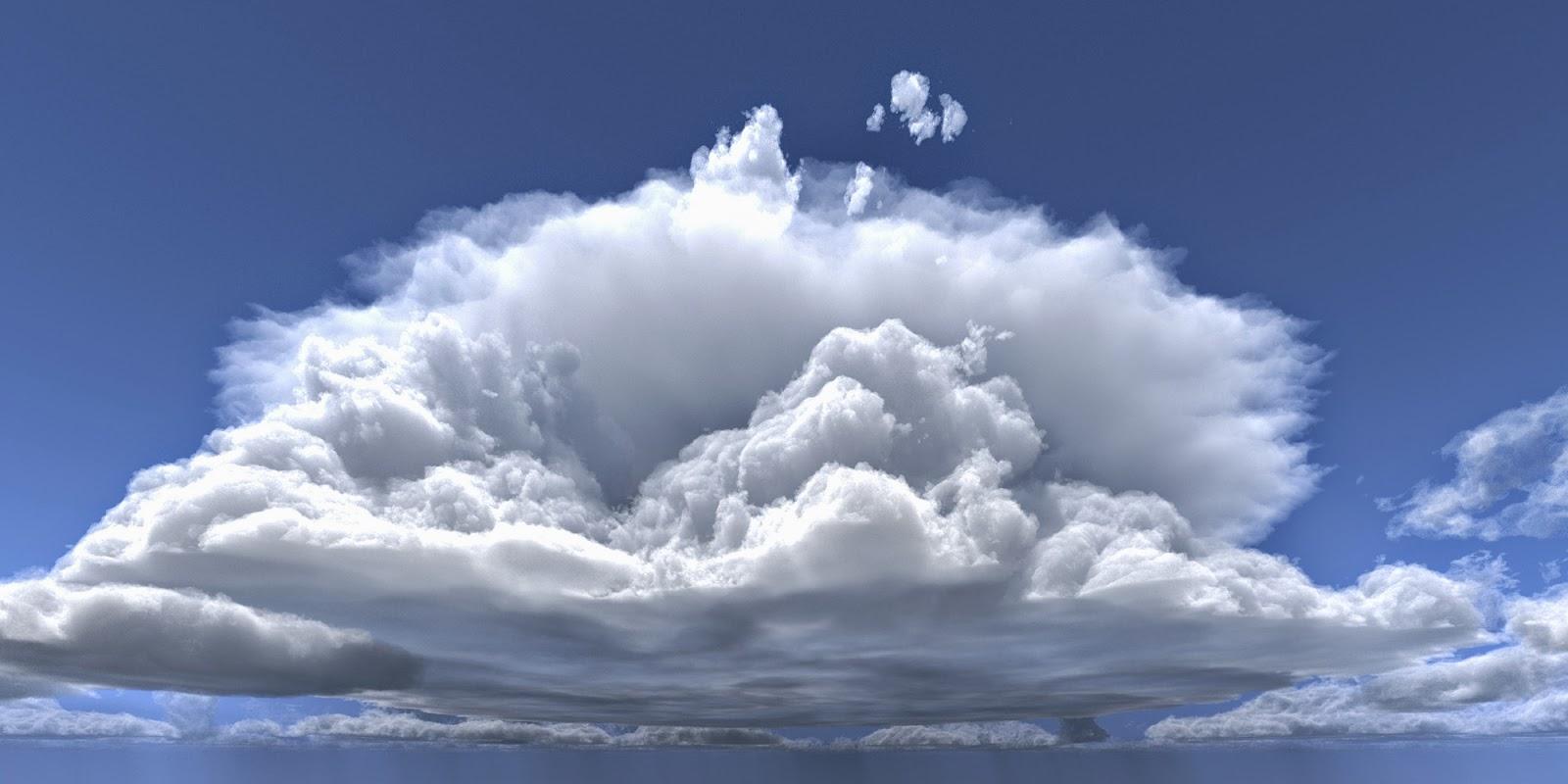 gambar awan cumulonimbus