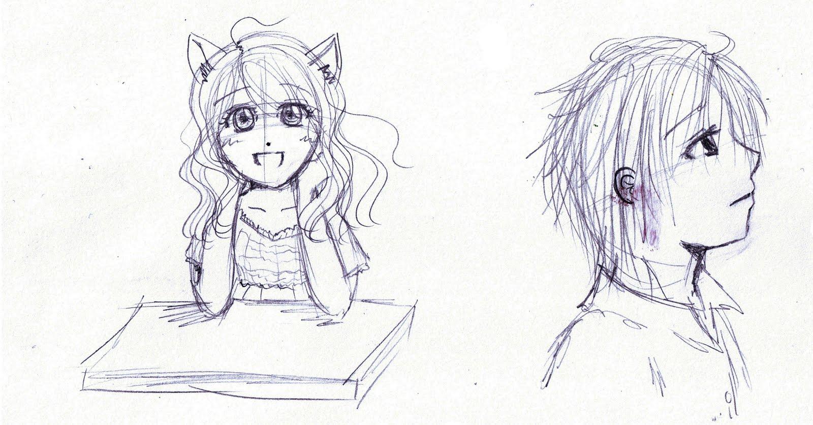 Destino Mangaka Mejorar tu dibujo II Ejercicio de personajes
