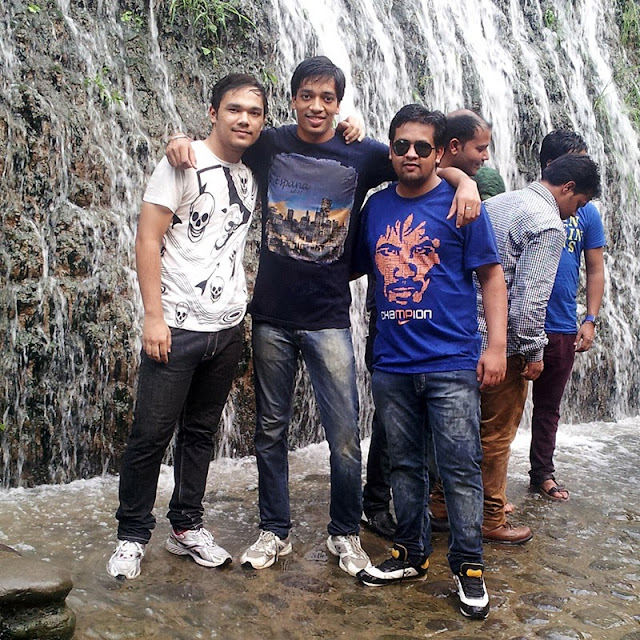 Anmol Ankit Harshit at Rock Garden