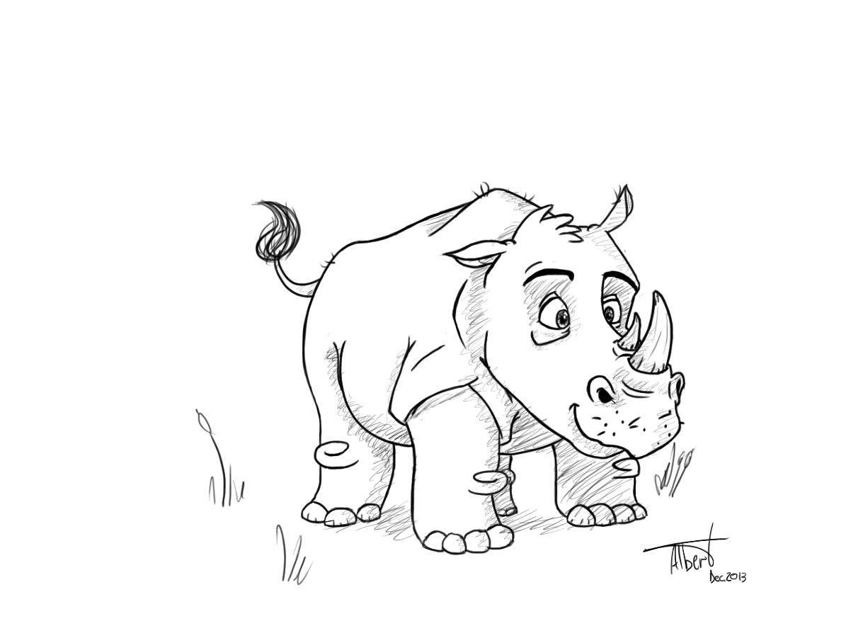 """Rhino"" - Albert Casado (nfok-e) - http://nfokedot.blogspot.com"