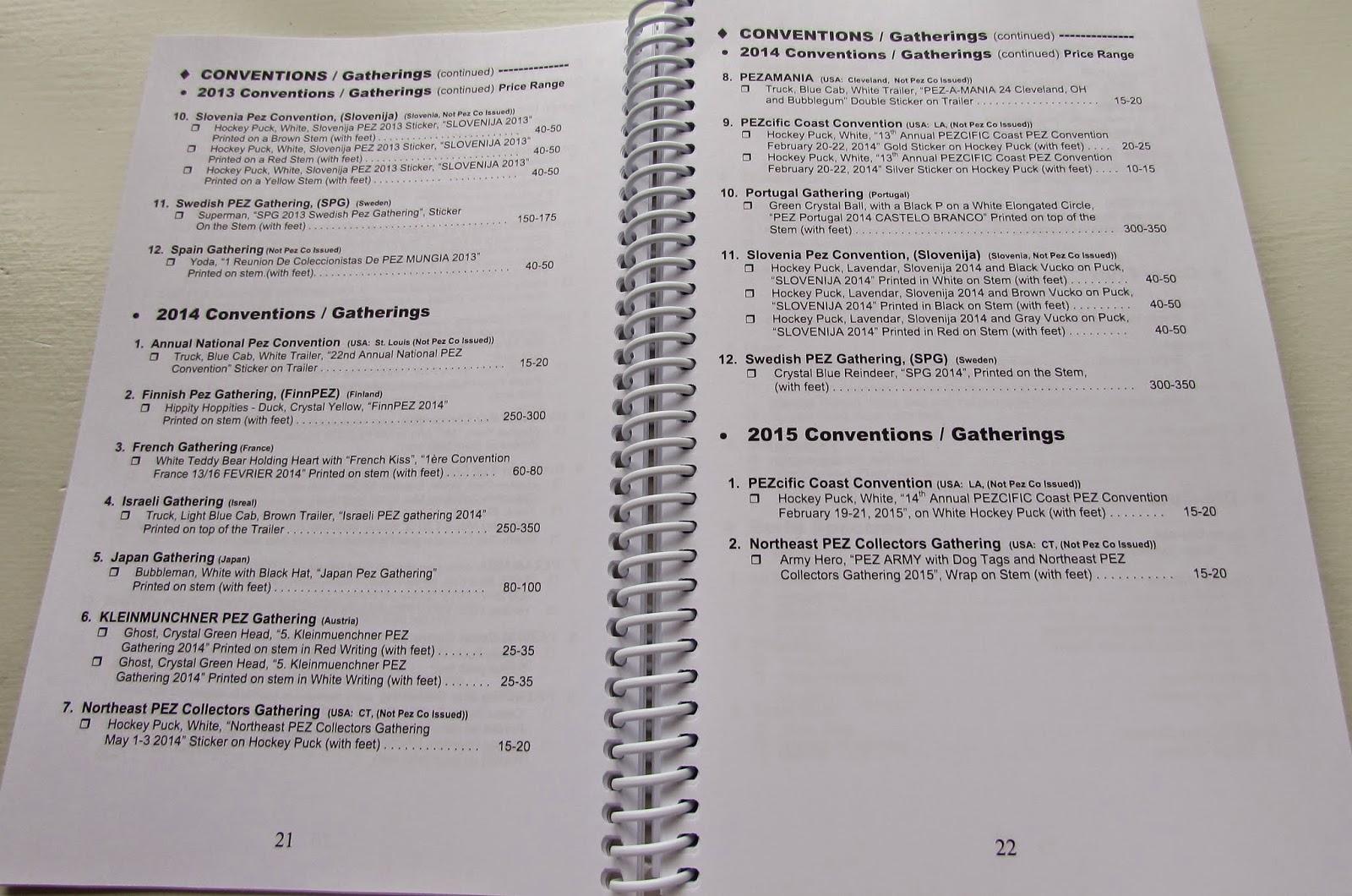 Pez Palz Friends of PEZ: Price Guide for PEZ 26th Edition...