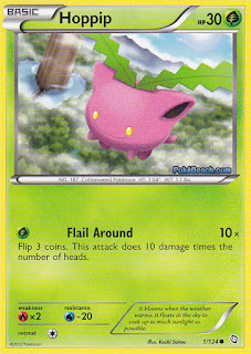 Hoppip Dragons Exalted Pokemon Card