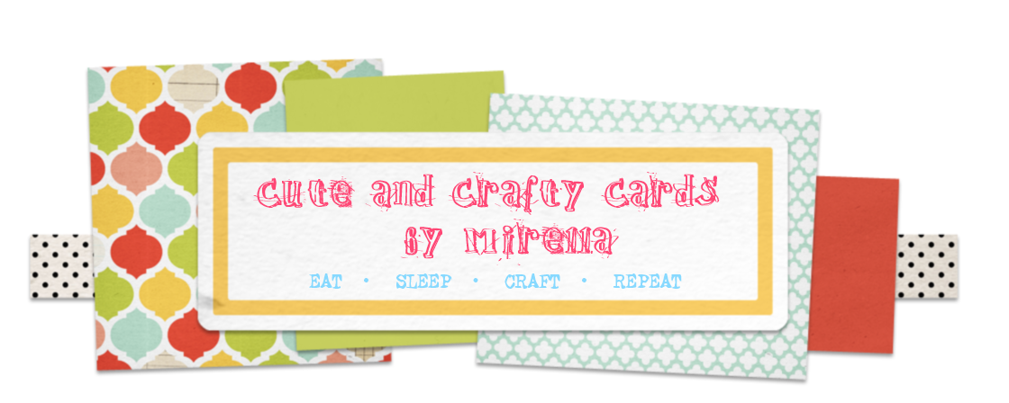 Cute and Crafty Cards by Mirella