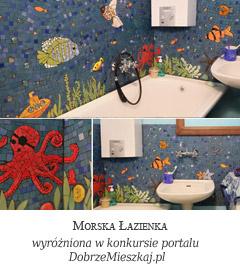 Morskie Opowieści - mozaika łazienkowa