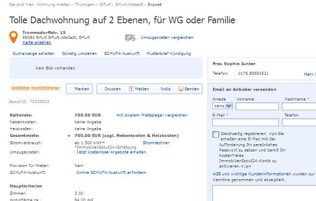 wohnungsbetrug.blogspot.com: sophie_junker@hotmail.com alias Frau ...