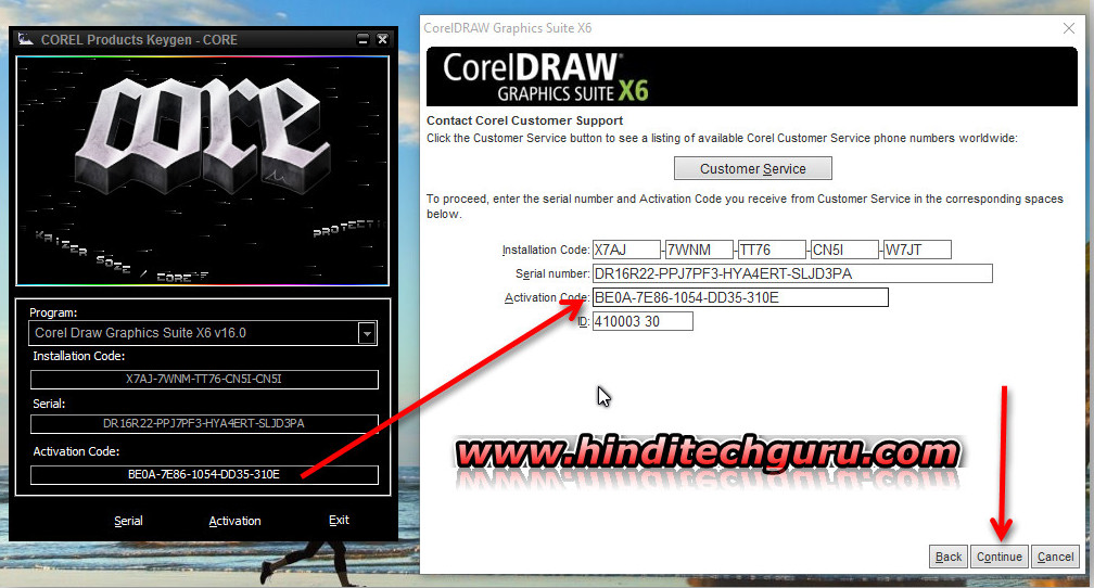 corel draw x6 com keygen download