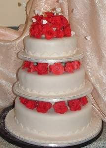 Delicious Wedding Cakes Brisbane In Rose