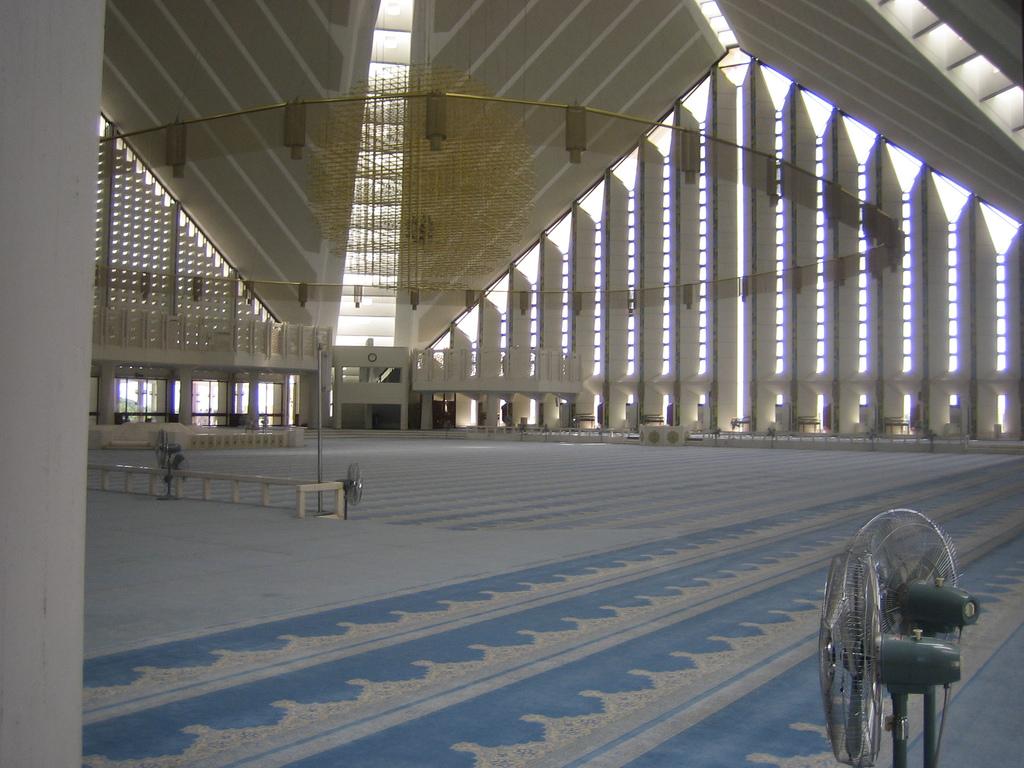 Faisal mosque Islamabad, Pakistan