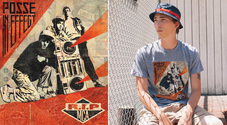OBEY Awareness - Beastie Boys MCA Charitable Musical Collections