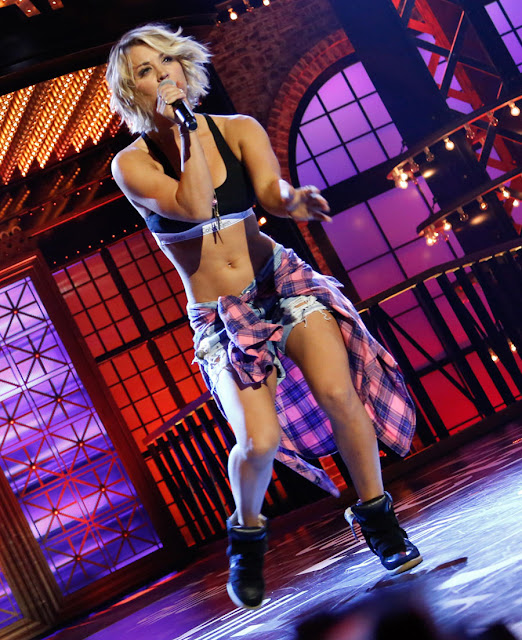 Actress, @ Kaley Cuoco Stills From Lip Synch Battle