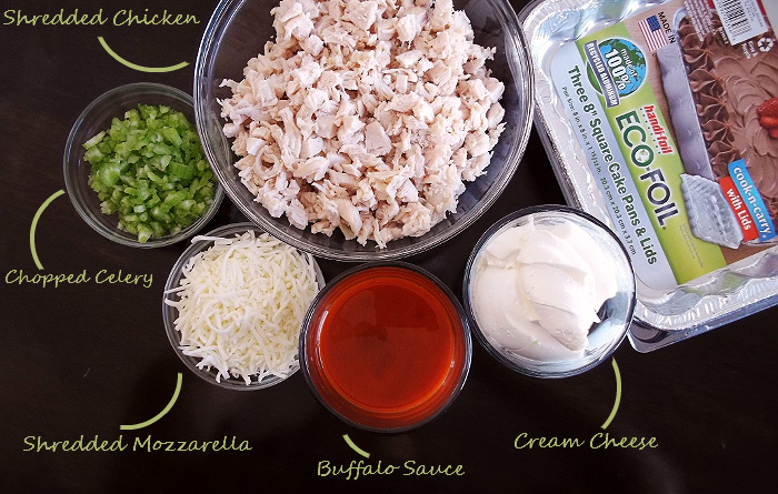 Buffalo Chicken Dip Ingredients Game Day Recipes With Handi-Foil