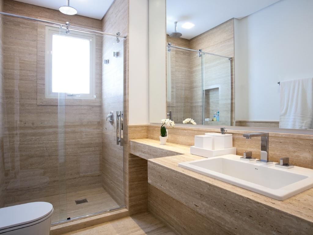 #4B3B28 É um projeto de banheiro bem bacana mas não gostei muito destes  1024x768 px Banheiros Bonitos Fotos 1519