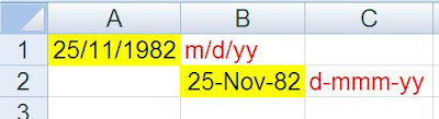 Excel POI - Format Cell Date Example - Java Program - Output