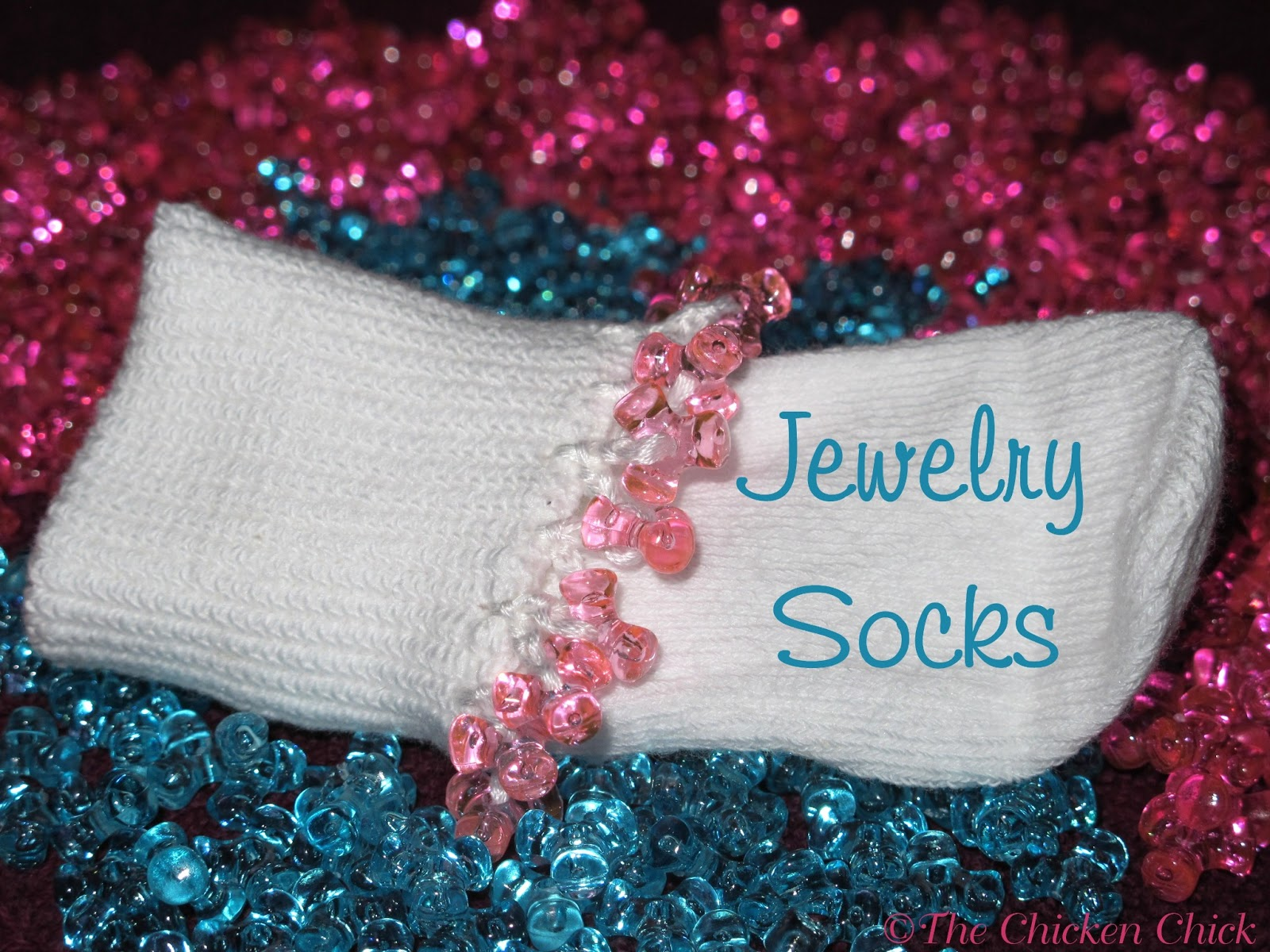 Clever Chicks Blog Hop 29 and Jewelry Socks Tutorial & 2 Giveaways
