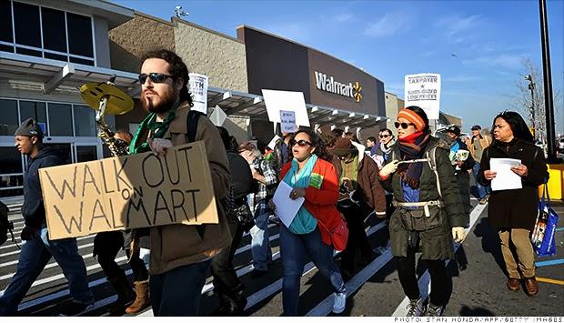 Black Friday Walmart Protest