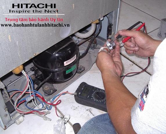 Thay Lốc (Block) tủ lạnh Hitachi | Uy tín, Chính hãng