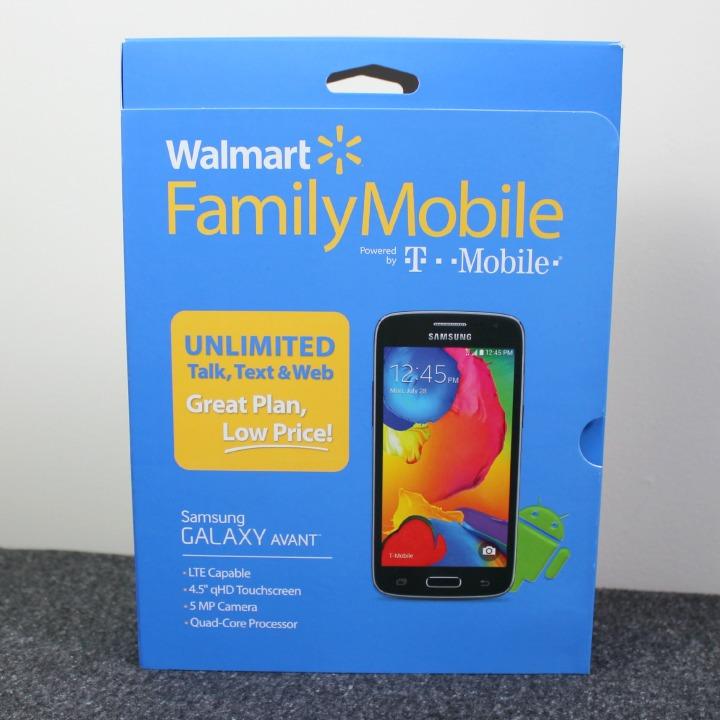 Walmart Family Mobile Samsung Galaxy Avant