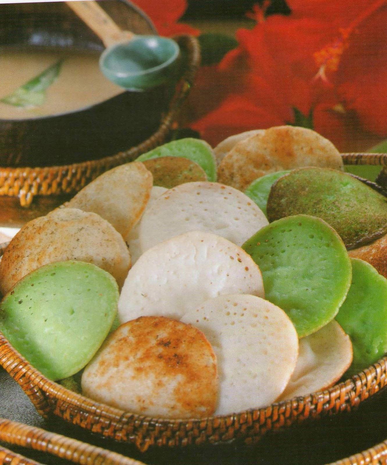 Resep Membuat Kue Serabi Bandung Manis Special Kuah Kinca