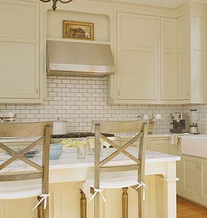 Beige Cabinets