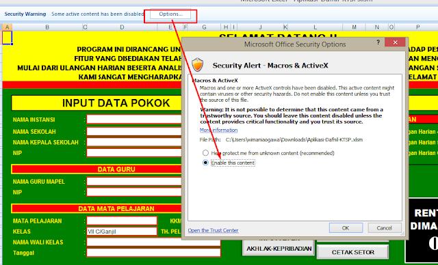 wimBerkas Sekolah Excel - Aplikasi Raport dan Daftar Nilai SMP/MTS Sementara Kurikulum KTSP Terbaruaogawa.blogspot.com