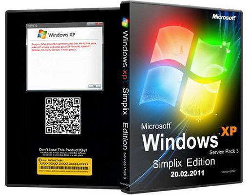 Download XP Pro SP3 VLK Simplix Edition