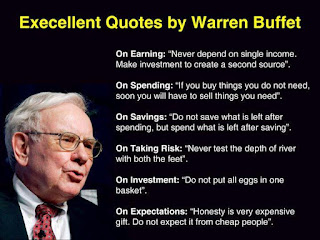 Quote by Warren Buffet