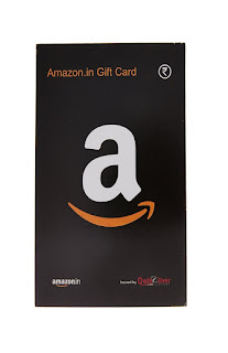 Amazon: Buy Amazon Gift Card get Black Paper Card for Rs.500 above – Buytoearn