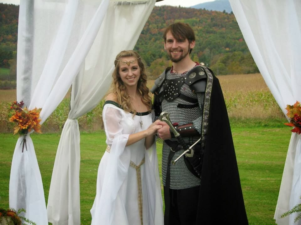 In No Simple Language Lord of the Rings Wedding