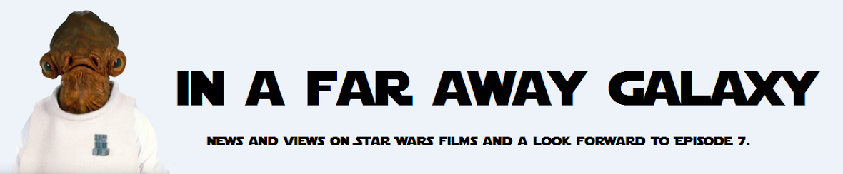 In a far away galaxy -  a Star Wars fan site