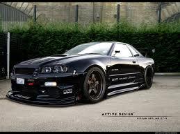 Bila Nissan Skyline Auto-Stop !!