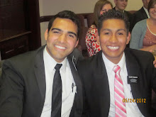 Elder Garcia and Elder Pedraza May 2012- August 2012