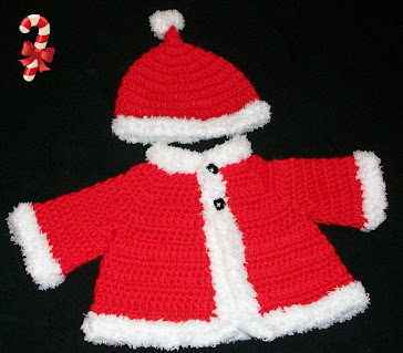 Santa Sweater and Hat