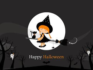 cute happy halloween