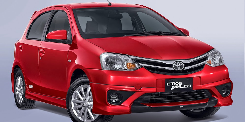 Toyota Etios The Valco Tom's Supported Aerokit