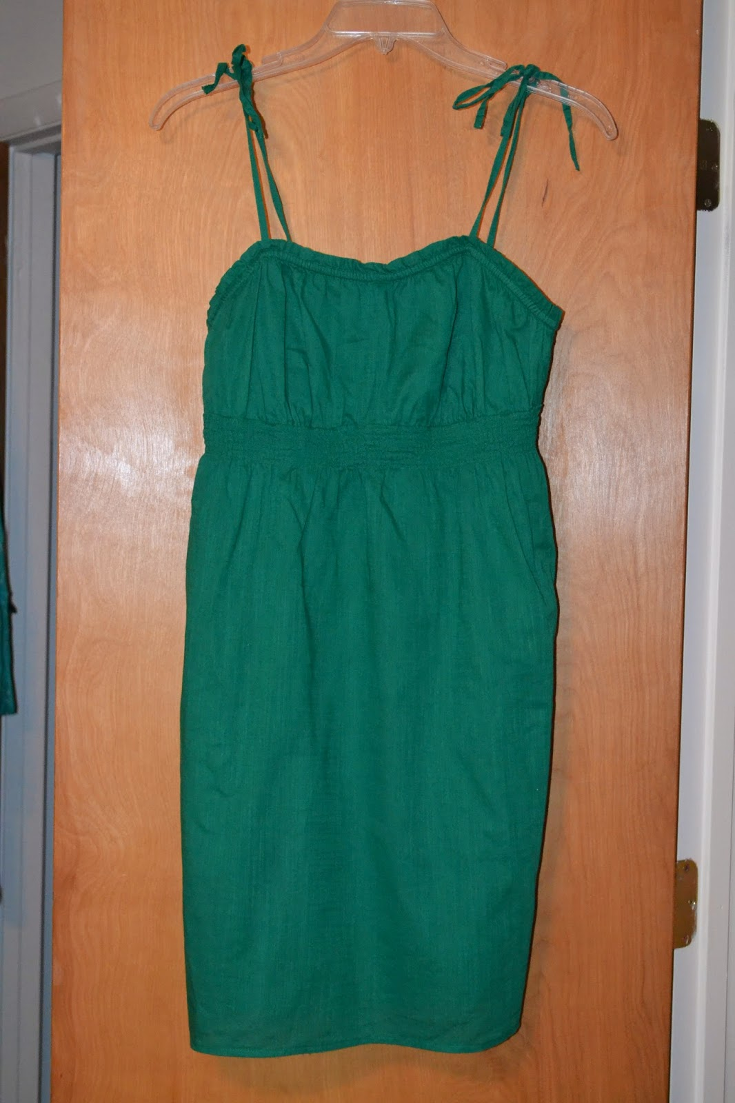 Thred up Green Dress