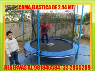 CAMA ELÁSTICA DE 2,44 MT