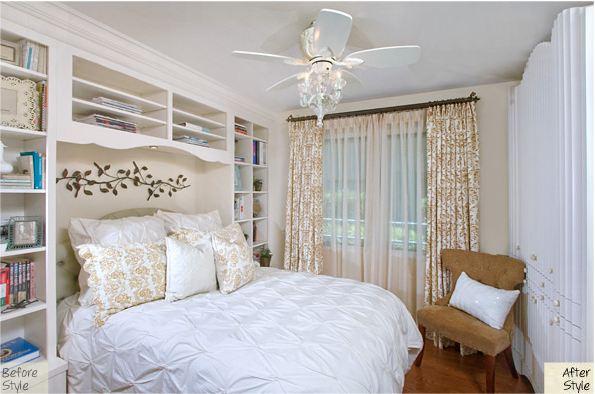 Bedroom Built Ins around Bed