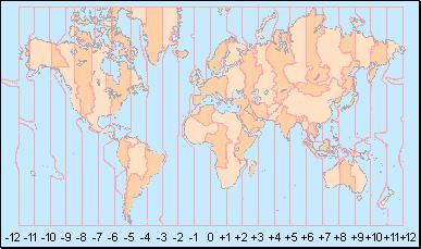 diferencia horaria internacional: