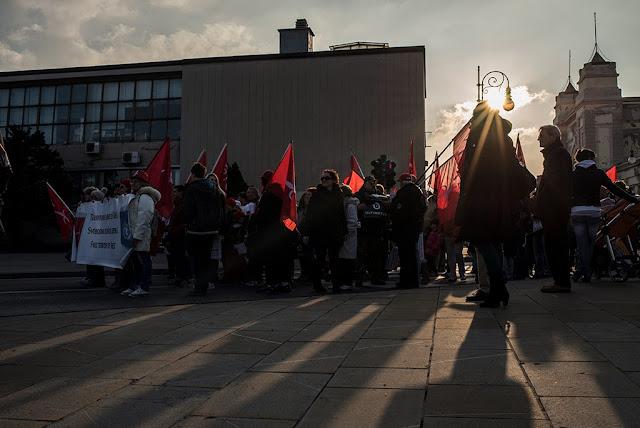 Manifestazione Movimento Trieste Libera Stazione di Sant'Andrea
