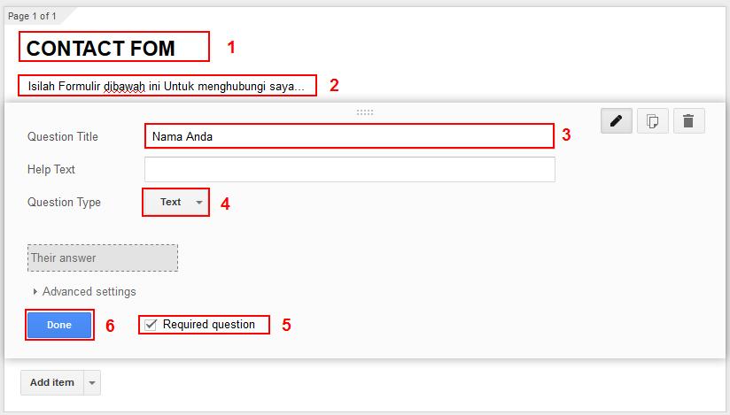Panduan Membuat Formulir Online dengan Google Form : Lengkap
