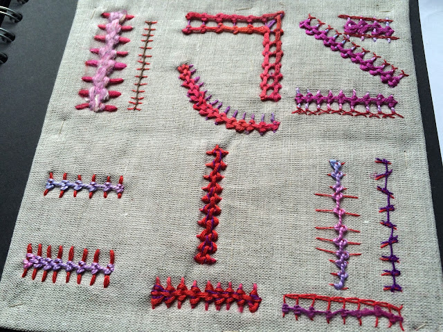 Arnold s attic hand embroidery samples raised