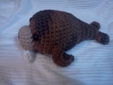 Amigurumi Walrus : MaeBelleCreations and Musings: Amigurumi Walrus (crochet)