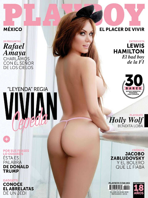FOTOS: Vivian Cepeda desnuda para Playboy