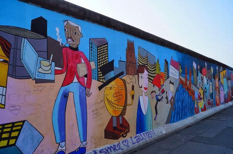 muro berlin, murales muro berlin, east side gallery, arte callejero, street art, murales politicos