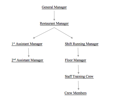 business structure of mcdonalds corporation Mcdonald's organizational structure was reformed in july 1, 2015 to improve the  company's handling of its global operations a firm's organizational structure.